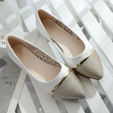 [PRE-ORDER] Women Flat Comfortable Shallow Shining Working Shoes
