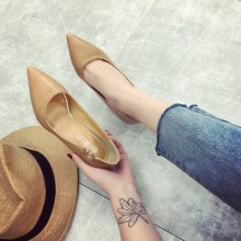 [PRE-ORDER] Women Shallow Mouth Pointed High Heel Working Shoes