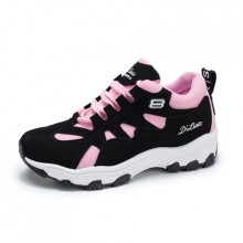 [PRE-ORDER] Women Korean Casual Running Lacing Up Sports Shoes