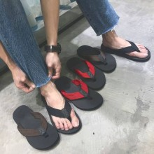 [PRE-ORDER] Men Flip Flops Non-slip Outdoor Rubber Beach Shoes
