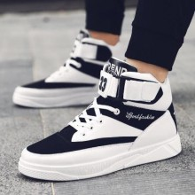 [PRE-ORDER] Men Korean High-top Canvas Casual Trend Sports Shoes