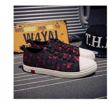 [PRE-ORDER] Men Summer Casual Breathable Lazy Student Canvas Shoes