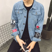 [PRE-ORDER] Men's Retro Denim Korean Slim-type Jacket
