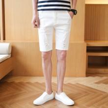 [PRE-ORDER] Men's Denim Stretch Leisure Korean Shorts