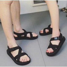 [PRE-ORDER] Men Korean Beach Couple Cool Slippers Casual Sandals