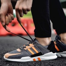 [PRE-ORDER] Men Leisure Canvas Running Lacing Up Sport Shoes