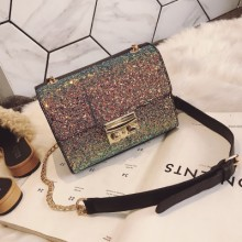 [PRE-ORDER] Women Chain Small Square Korean Colorful Messenger Bag