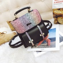 [PRE-ORDER] Women Korean Sequins Travel Casual Shining Backpack