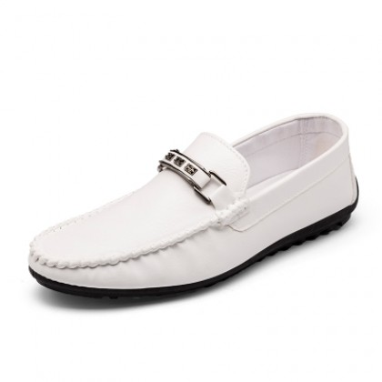 [READY STOCK] Men Loafers Tide Casual PU Leather Office Shoes