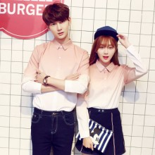 [PRE-ORDER] Men's Couple Women Lovers Gradient Long Sleeve Shirt