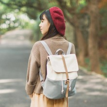 [PRE-ORDER] Women Taiwan Canvas College Student Backpack