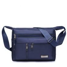 [PRE-ORDER] Men Waterproof Nylon Canvas Leisure Travel Messenger Sling Bag