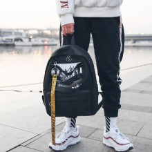 [PRE-ORDER] Men Casual Canvas School Outdoor Travel Sports Backpack
