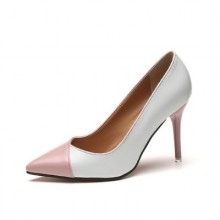 [PRE-ORDER] Women Shallow Mouth Mixed Colors Pointed Head High-heeled