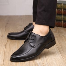 [PRE-ORDER] Men Business Non-slip Working Casual PU Leather Shoes