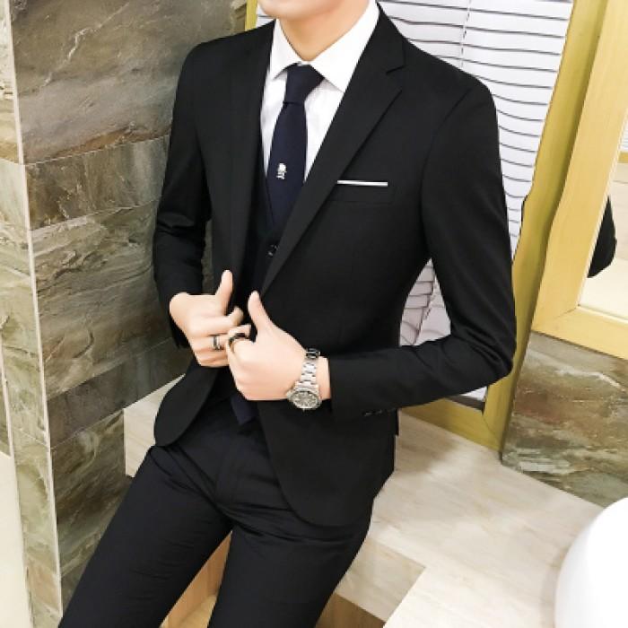 PRE-ORDER] Men\'s Formal Suit Slim Casual Wedding Blazer Coat