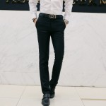 [PRE-ORDER] Men's Formal Office Slim Casual Wedding Long Pants