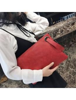 [PRE-ORDER] Women Korean Handbags Envelope Wristbands Bag