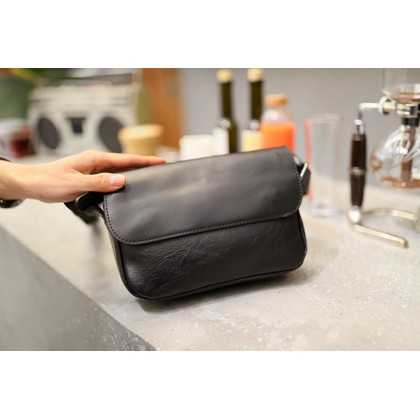 Men Korean Retro Leather Shoulder Strap Style Bag