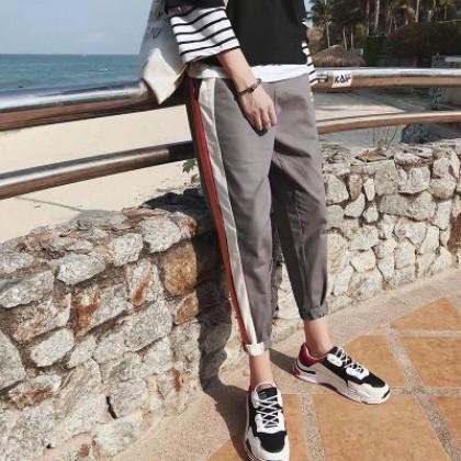 Men's Side Stripe Harem Sportswear Plus Size Pants