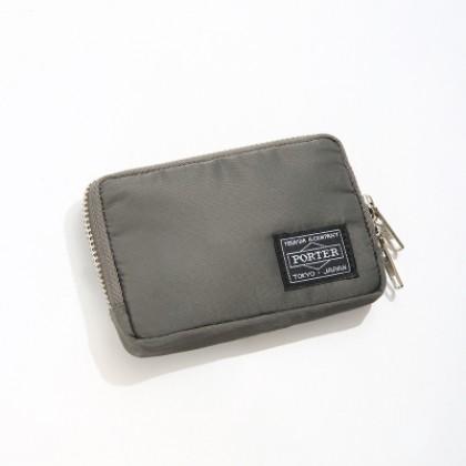 Men's Waterproof Coin Purse Double Zipper Lock  Mini Wallet