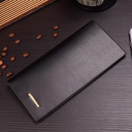 Men's Fashion Multi Function Business Long Slim Wallet