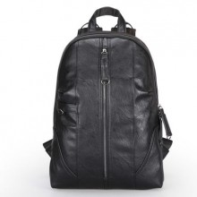 [PRE-ORDER] Men's Black Student Laptop Bag Unisex Travel Leisure Backpack