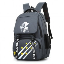 [PRE-ORDER] Men's Fashion Male Big Capacity Travel Bag Student Trendy Backpack