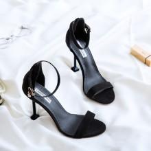 [PRE-ORDER] Women Fashion Elegant Open Toe Sexy Sandals Square Heel Ladies High Heels