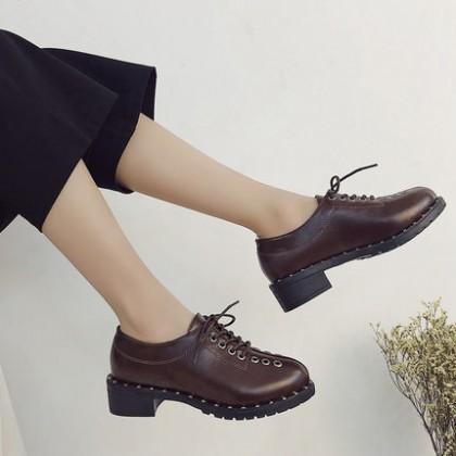 Women Punk Style Casual Fashion Ladies Plus Size Shoes
