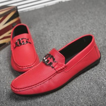 Men's Fashion Bean Easy Wear Flat Heel