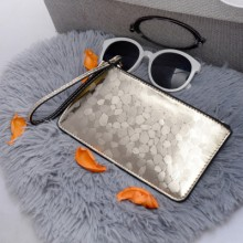 Women Classy Long Slim Zippered Mobile Phone Bag Clutch Purse Wallet