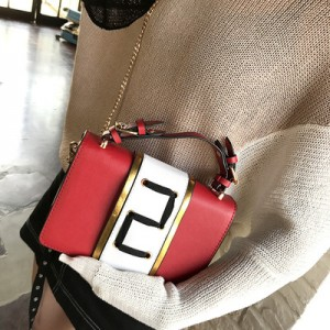 [PRE-ORDER] Women Classy Wild Fashion Square Diagonal Tie Sling Bag Cross Body Bag