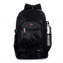 [PRE-ORDER] Men's Black Big Travel Luggage Bag Unisex Student Laptop Bag Backpack