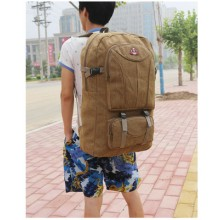 [PRE-ORDER] Men's Large Retro Big Capacity Travel Luggage Camping Bag Unisex Backpack