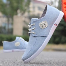 Men's Breathable Comfy Cloth Casual Shoes Guy Handsome Fashion Canvas Shoes
