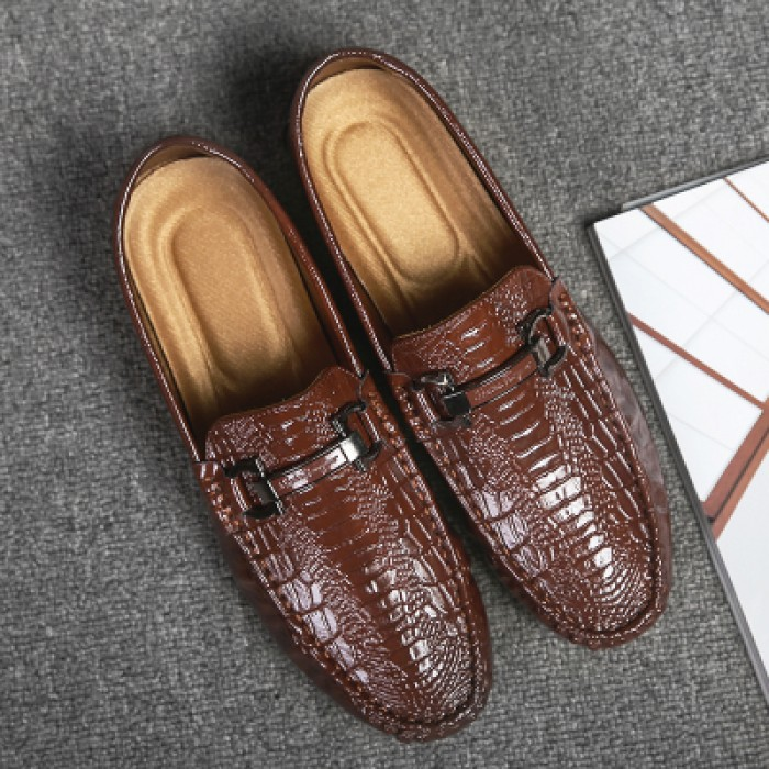 Men s Peas Shoes Business Shoes Daily Wear Fashion Casual Shoes 11f89b242f5
