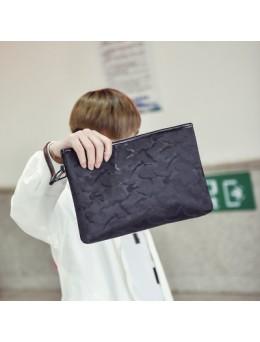 [PRE-ORDER] Men's Waterproof Mobile Phone Hand Bag Guy Trend Casual Clutch Bag