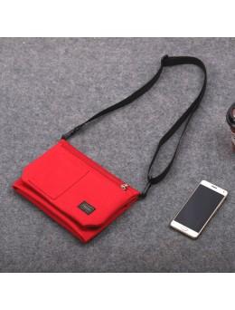 [PRE-ORDER] Men's Simple Style Messenger Sling Bag Street Fashion Clutch Storage Cross Body Bag