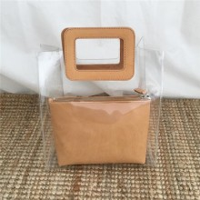 Women Transparent Jelly Bag Shopping Fashion New Trend Hand Bag