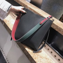 Women Chic Fashion Wild Trend Tote Bag Synthetic Leather Shoulder Bag