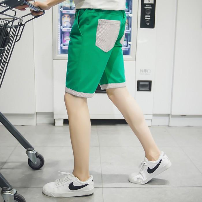 Men S Summer Pastel Shorts Male Beach Fashion Plus Size Pants