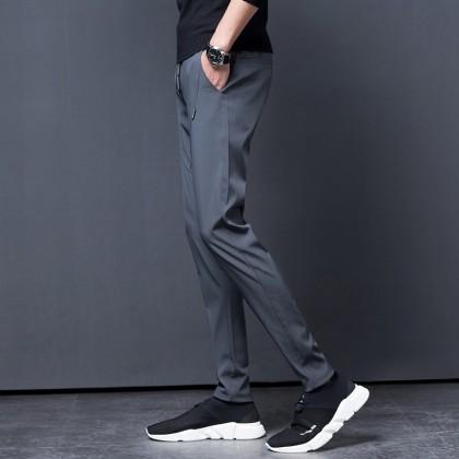 Men's Sports Long Pants Slim Fit Male Fashion Trend Plus Size Pants