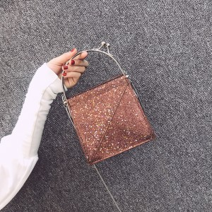 Women Star Party Fashion Chic Bag Square Hand Bag Ladies Sling Bag