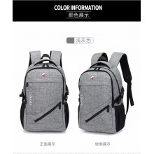 Men's Fashion Laptop Bag Unisex Travel Outdoor Couple Backpack