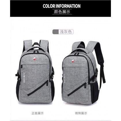 Men's Fashion Laptop Bag Unisex Travel Outdoor Couple Backpack