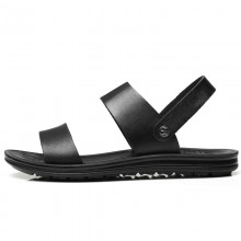 Men's Leather Non Slip Sandals Summer Beach Fashion Outdoor Slippers