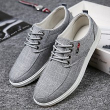 Men's Cloth Lace Up Canvas Shoes Male Trend Daily Casual Shoes