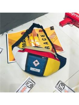 [PRE-ORDER] Men's Street Retro Chest Bag Unisex Couple Pocket Dumpling Sling Bag