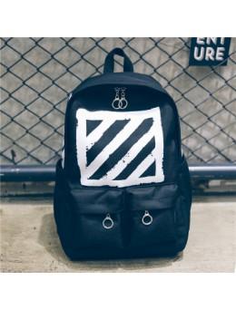 [PRE-ORDER] Men's Street Fashion Large Capacity Backpack Unisex Couple Bag